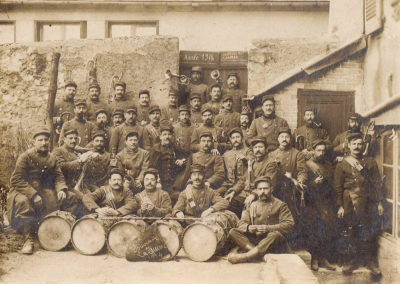 Tambours et clairons pour la grande guerre de 1914