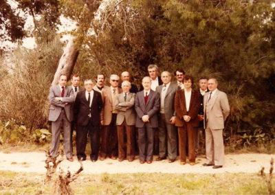 Conseil municipal des années 80