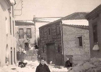 Coup de neige années 50