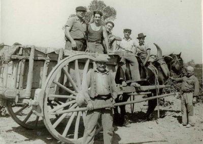 Ouvriers du Mas Barrère en 1950