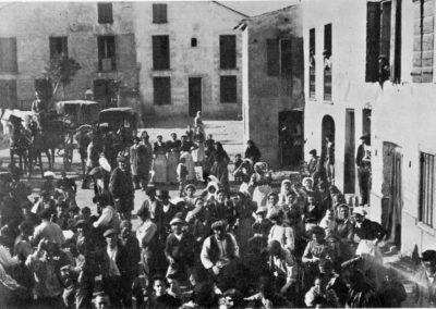 Place de Villeneuve en 1900